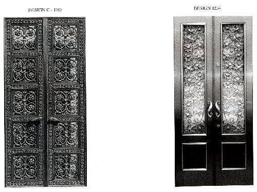 mausoleums bronze doors